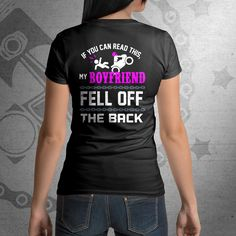 #Ladies Female #Motorcycle Shirt, May Motorcycle Awareness month special! Fun design, enjoy!