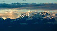 Dusk Peak Himalayas Nepal [OC][1200x800] http://ift.tt/2apbImF @tachyeonz