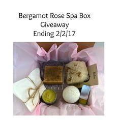 Bergamot Rose Spa Box Giveaway – Ends 2/2/17