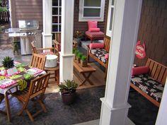 Tágas terasz - erkély / terasz ötlet