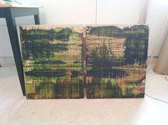 """Saatchi Art Artist Jukka Juhani Uusitalo; Painting, """"Swamp"""" #art"""