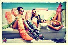 Xoowmagazine party formentera july 2013  www.tuyyoformentera.com  #boots #botas #fashion