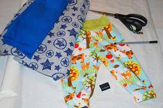 Materialer til baggy baby bukser