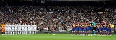 attend a real madrid v fc barcelona futbol match