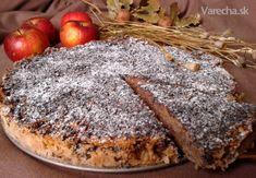 Sypaná štrúdľová torta (fotorecept) - Recept Bon Appetit, Camembert Cheese, Paleo, Dairy, Food And Drink, Sweet, Desserts, Candy, Tailgate Desserts