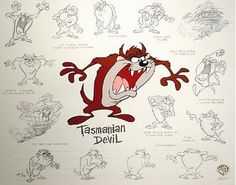 Hare Devil Hare gives us the debut of Taz, even though he only appeared in five cartoons he became one of the biggest stars on the Warner Bros. lot. Taz is a dim-witted, crazed, grunting, spiting and growling eating machine, spinning like a tornado and eating everything in his path. #Taz