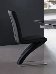 Sidney Designer Dining Chair - Black - $110.99