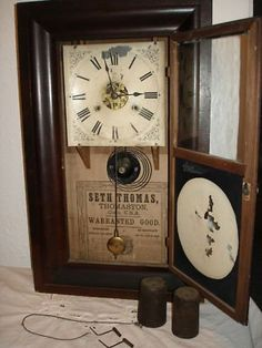 I grew up with a Seth Thomas clock like this one!