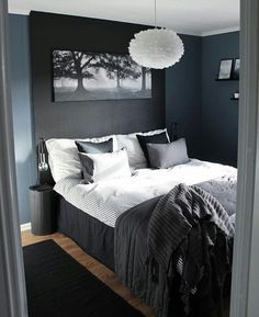 Inspirations Mens Bedroom Ideas - All Bedroom Design Room Ideas Bedroom, Bedroom Colors, Home Decor Bedroom, Modern Bedroom, Bedroom Artwork, Bedroom Rustic, Diy Bedroom, Girls Bedroom, Bedroom Furniture