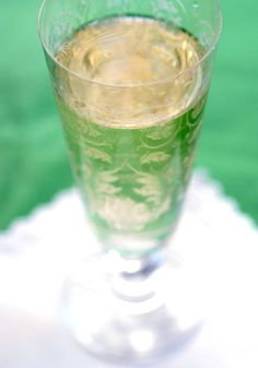 Lady Sybil  makes 1 cocktail  1 oz gin  3/4 oz St. Germain elderflower liqueur  brut champagne, chilled    Combine the gin and St. Germain over ice. Shake and strain into a flute. Top with champagne.