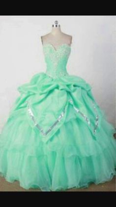 e65c383a8f2 Sequin and Beading Sweetheart Mint Green Quincenera Dresses - Magic  Quinceanera