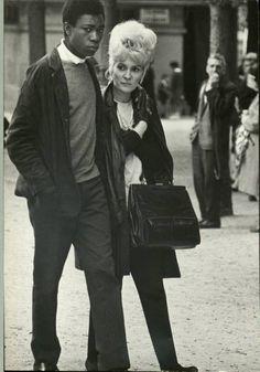 Photograph by Alfred Eisenstaedt. Paris, 1963.