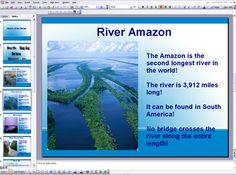 Rivers of the World ks2