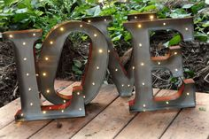 Lighted Love Sign