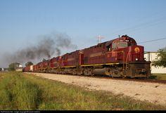 RailPictures.Net Photo: AM 68 Arkansas & Missouri Railroad Alco C420 at Avoca, Arkansas by David Hawkins
