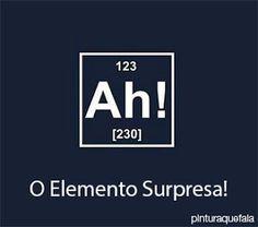 Pintura Que Fala: Ah!: O Elemento Surpresa