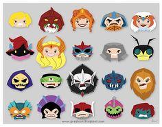HeMan Icons!!! Sweet