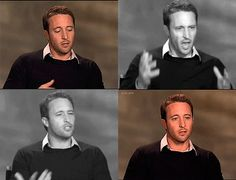The lack of a new H50 episode made me review old interviews during the last week (besides watching again and again the 100th episode). And I remembered how much I love all these gestures that Alex ... #AlexOLOughlin