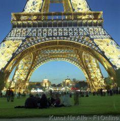 Welt-Wunder, Prächtig, Eiffelturm, Schmiedeeisen