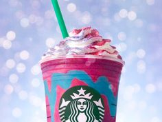 A Starbucks Fan Shows Us How To Get A Unicorn Frappuccino For Free  http://www.refinery29.com/2017/04/151208/starbucks-unicorn-frappuccino-free?utm_source=feed&utm_medium=rss