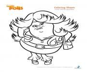 Coloring page trolls bridget coloring pages pinterest for Trolls smidge coloring page
