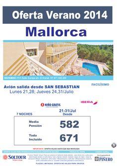 Mallorca: Oferta Hotel Bahamas salidas desde San Sebastian ultimo minuto - http://zocotours.com/mallorca-oferta-hotel-bahamas-salidas-desde-san-sebastian-ultimo-minuto/
