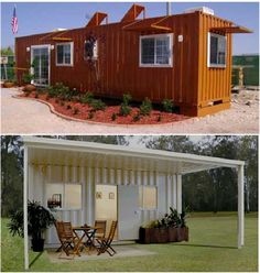 a long-term survival guide - container cabins
