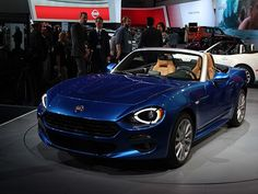 The Fiat 124 Spider Lands In LA: Think Mazda Miata With A Turbo And Sharp Italian Suit | automotive99.com