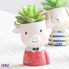 Dev Kız Saksı Kalıbı Planter Pots