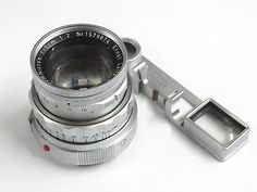 Summicron 5cm 1579874 Leitz Germany Vintage Leica Camera Lens w Eyes NR #Leitz