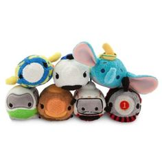 Disney Parks Attraction Vehicles Tsum Tsum Collection - December's Tsum Tsum Tsuesday Release