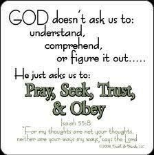 God's Thoughts are Not our Thoughts :: Ourdailybread