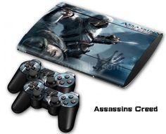 Skin PS3 Slim 4000 - Assassin's Creed