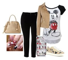 """""""Micky mouse fit"""" by key12 ❤ liked on Polyvore featuring Melissa McCarthy Seven7, Kate Spade, MOA Master of Arts, Disney and plus size clothing"""