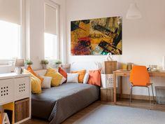 Obraz na płótnie - VINTAGE NOWY JORK - 120x80 cm (18201) (sprzedawca: VAKU-DSGN), do kupienia w DecoBazaar.com