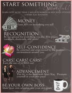 The Mary Kay opportunity Join my team! www.marykay.com/jmayle12