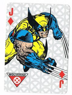 Wolverine - Jack of Diamonds by stormantic, via Flickr
