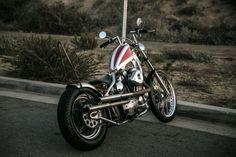 1986 Harley-Davidson Sportster Chopper for sale via Rocker.co #harleydavidsonsportsterbobber