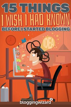 I started blogging in 2009. Here's what I wish I'd known when I first started (so you don't make the same mistakes I did).