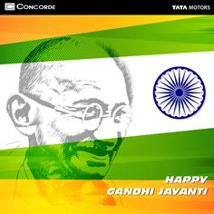 Let's pay our tribute to the Father of Our Nation with respectful remembrance. Concorde wishes all a very Happy Gandhi Jayanthi!  #‎Concordemotors‬ #GandhiJayanthi
