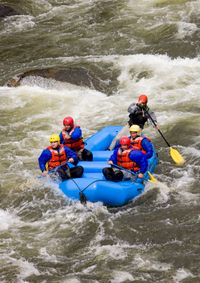 River-Rafting....I love doing this.
