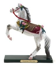 Take a look at this Victorian Christmas Horse Figurine by The Trail of Painted Ponies on
