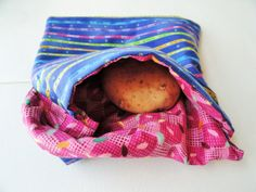 Microwave potato or vegetable bag by TheScatteredArtisan on Etsy, $8.00