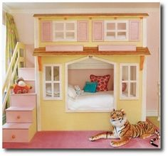 Playrooms Made From Canopy Beds