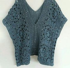 How do you keep track of knitting patterns? The history of knitting dates back to very, very old times. Almost all of the knitting ladies are curious. Crochet Tunic Pattern, Crochet Jacket, Crochet Cardigan, Crochet Shawl, Knitting Patterns, Crochet Edgings, Freeform Crochet, Crochet Motif, Mode Crochet