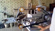 Belt grinder attachment