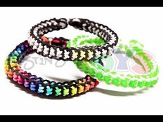 How to Make a Boxed Bow Bracelet - EASY design on the Rainbow Loom - YouTube