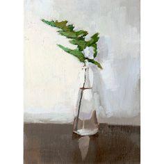 5x7 print plant still life Fern 4 by ElizabethMayville on Etsy
