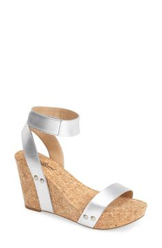 Lucky Brand 'McDowell' Wedge Sandal (Women) available at #Nordstrom