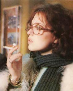 "mabellonghetti: ""Isabelle Adjani in ""The Tenant"" (Roman Polanski - Isabelle Adjani, Charlotte Rampling, Jane Birkin, Brigitte Bardot, Françoise Hardy, Women Smoking Cigarettes, Deneuve, The Tenant, Roman Polanski"